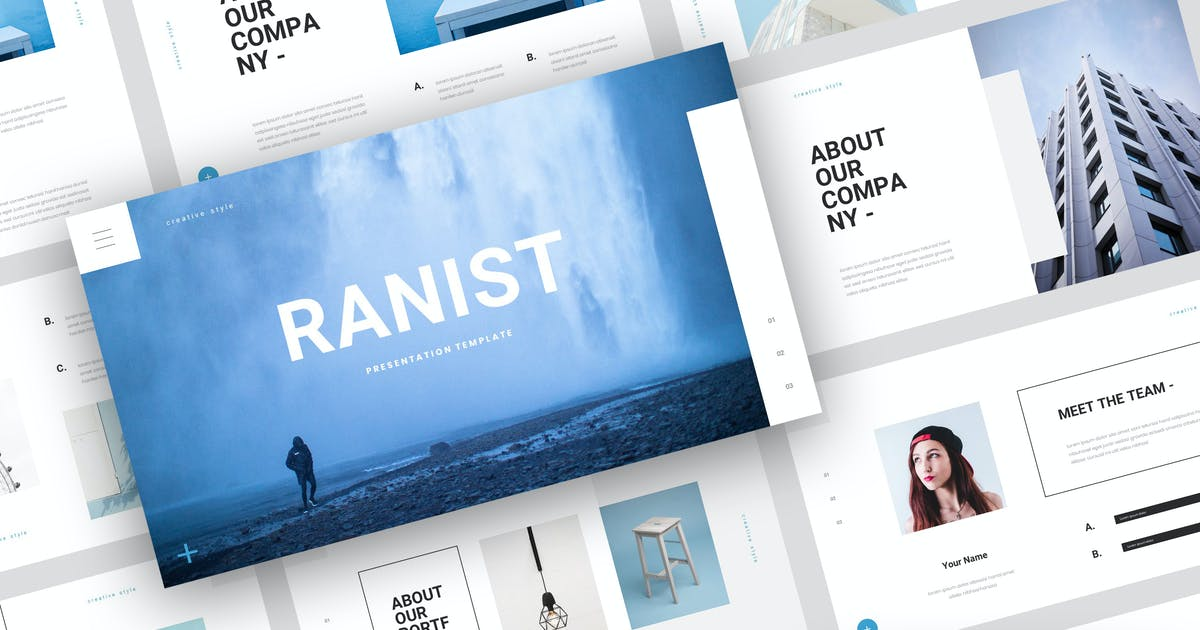 Download Ranist - Creative Keynote Template by StringLabs