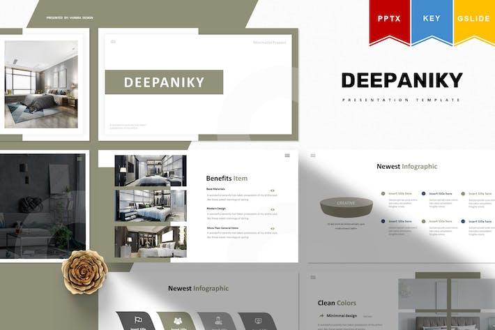Thumbnail for Deepaniky   Powerpoint, Keynote, Googleslide