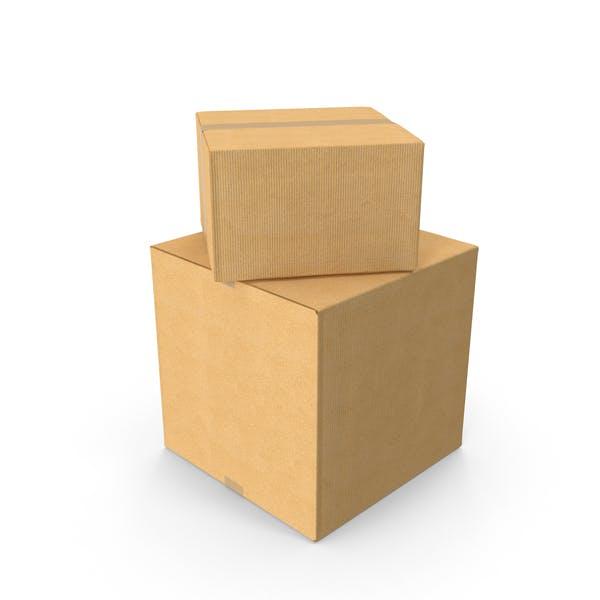 Две картонные коробки