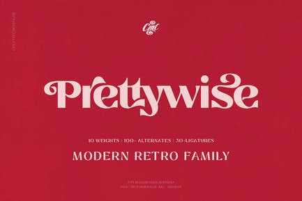 Prettywise - Modern Vintage Serif