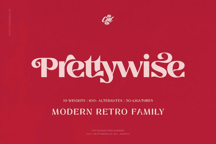 Thumbnail for Prettywise - Moderno Vintage Con serifa