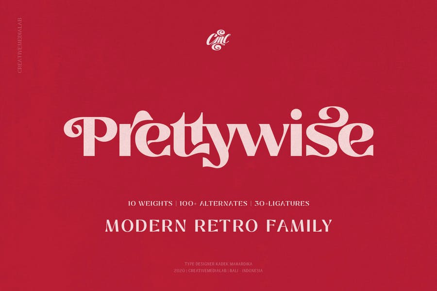 Prettywise - Moderno Vintage Con serifa