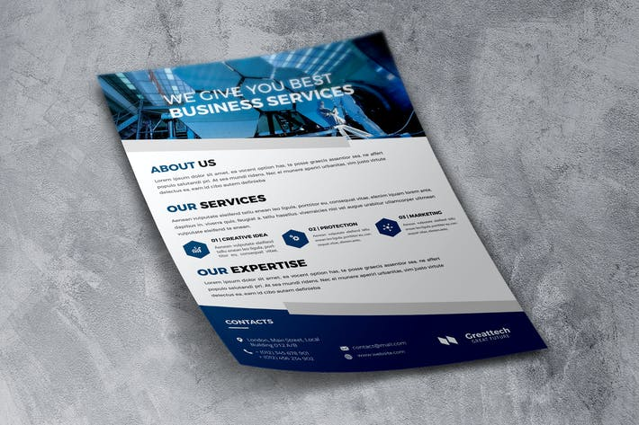 Thumbnail for Business Service - Flyer Design