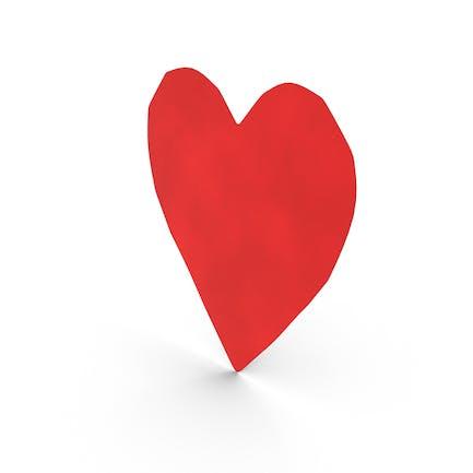 Paper Cutout Heart