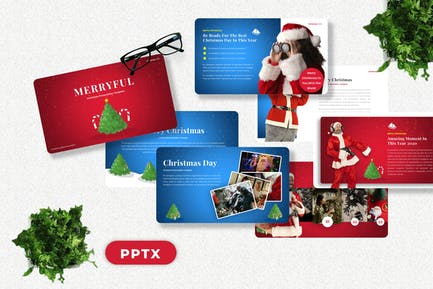 Merryful - Christmas Powerpoint Template