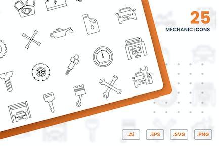 MechanikerIcons -Set
