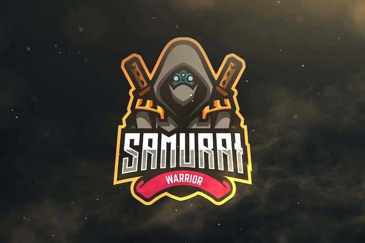 Thumbnail for Samurai Sport and Esports Logo