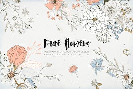 Reine Blumen