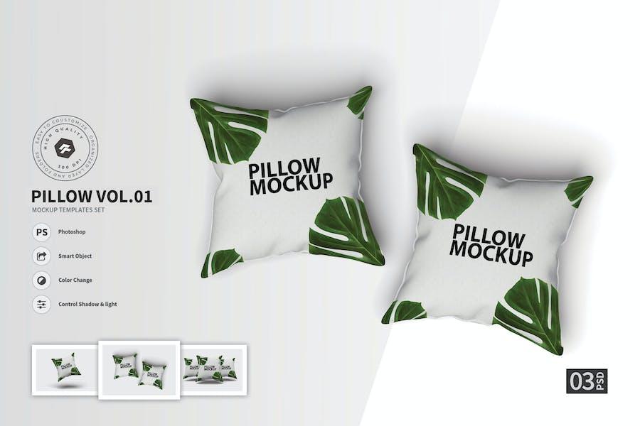 Pillow vol.01  - Mockup Set FH