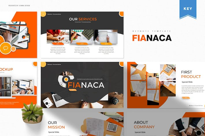 Thumbnail for Fianaca | Keynote Template
