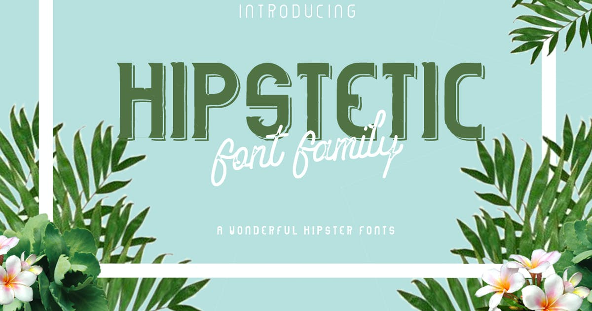 Download Hipstetic Font Family by ovozdigital
