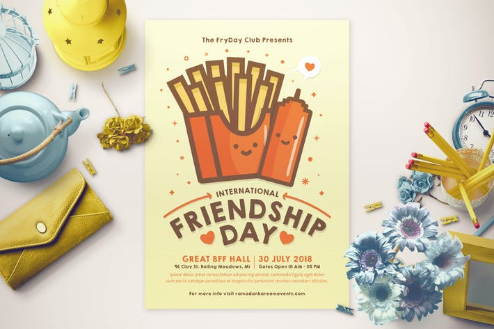 Thumbnail for Friendship Day Flyer