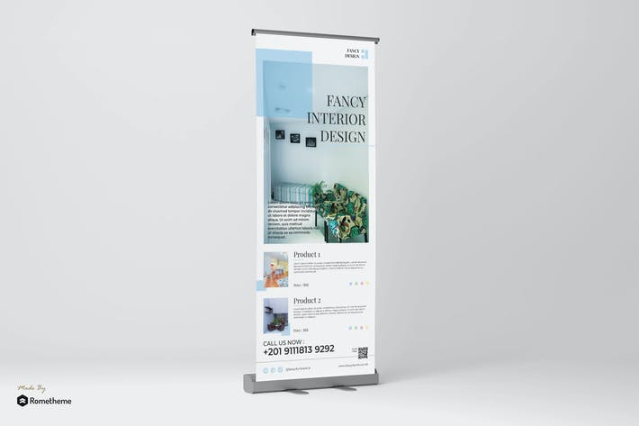 Thumbnail for Fancy - Furniture Promotion Roll-up Banner RY