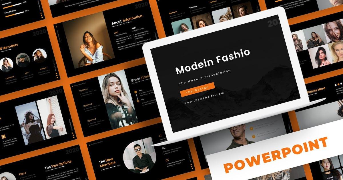 Download Modein Fashio - Powerpoint Template by karkunstudio