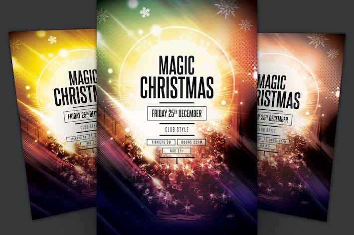 Thumbnail for Magic Christmas Flyer