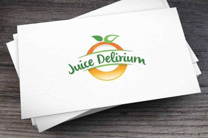 Thumbnail for Juice Delirium Logo Template