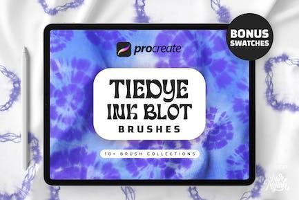 Procreate Tie Dye Ink Blot Brushes