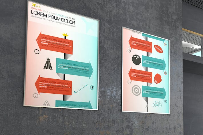 Thumbnail for Business Infographics Design Template