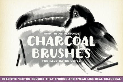 Charcoal Brushes