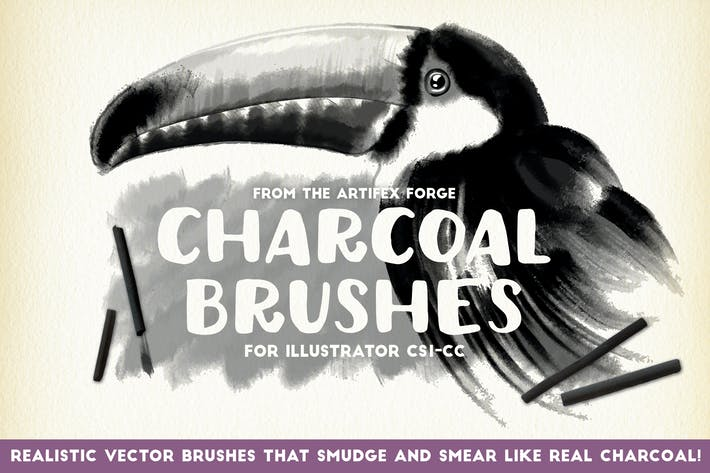 Thumbnail for Charcoal Brushes