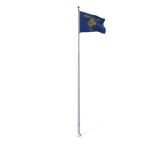 Thumbnail for Oregon State Flag