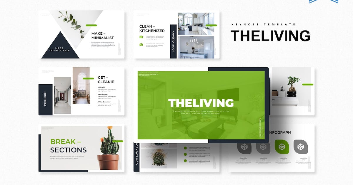 Download The Living   Keynote Template by Vunira