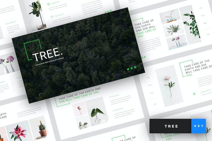 Thumbnail for Tree - Green Energy Keynote Template