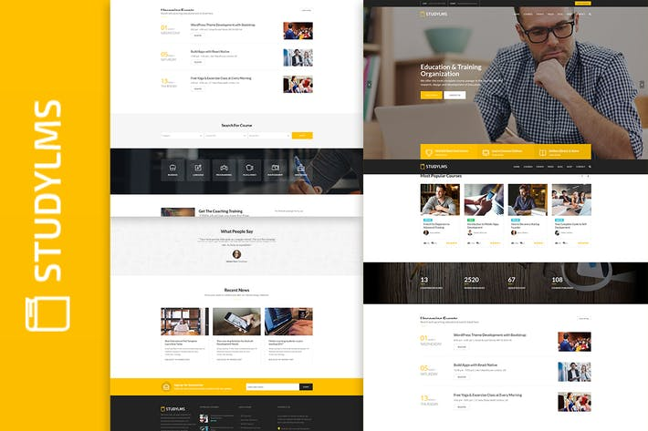 Thumbnail for Studylms - Education LMS & Courses HTML Template