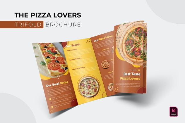 Pizza Lovers   Trifold Brochure