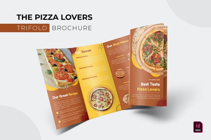Pizza Lovers | Trifold Brochure