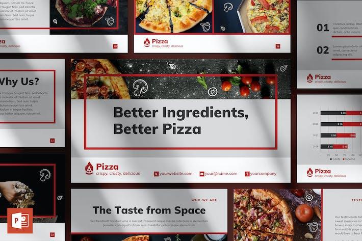 Thumbnail for Pizza Restaurant PowerPoint Presentation Template