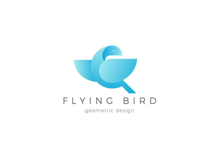 Thumbnail for Flying Bird Logo Dove Eagle abstract