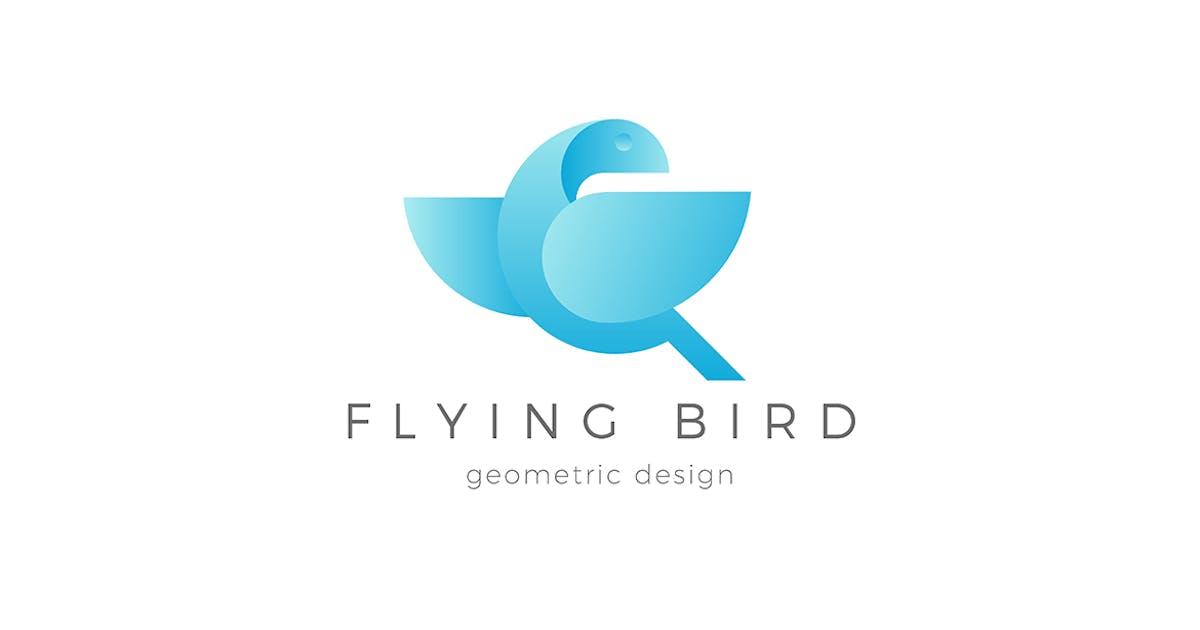 Download Flying Bird Logo Dove Eagle abstract by Sentavio