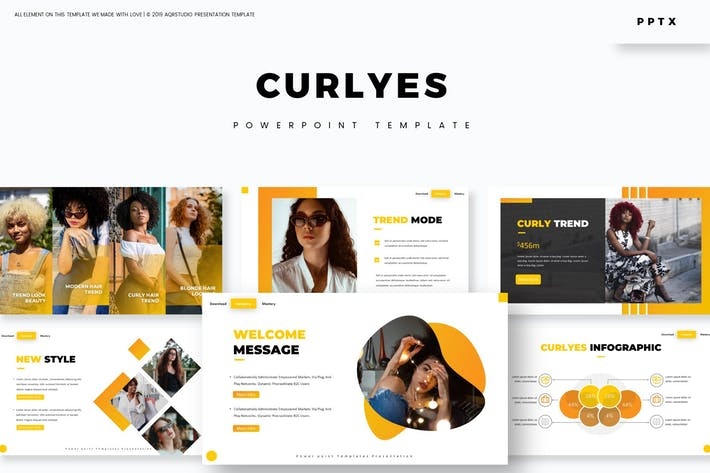 Curlyes - Powerpoint Template