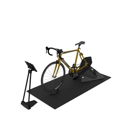 Smart Cycle Trainer And Bronze Bike