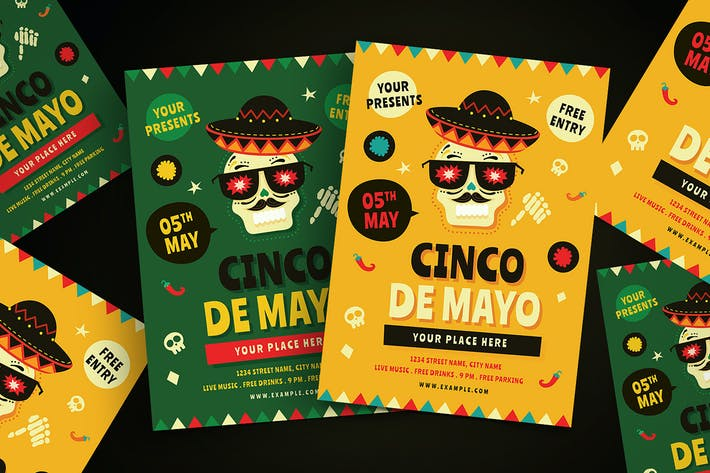 Cover Image For Cinco De Mayo Flyer 01