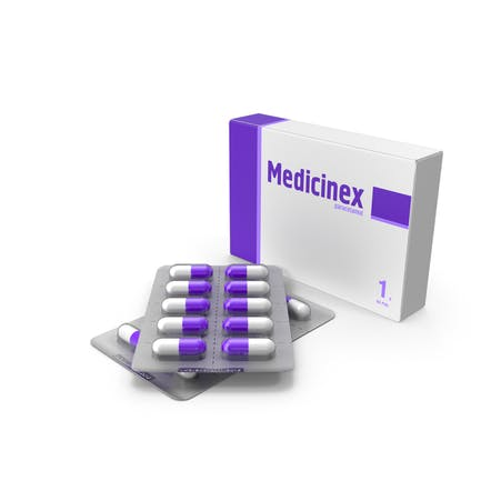 píldoras cápsula de medicamentos