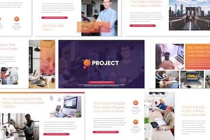 Project - Keynote Templates