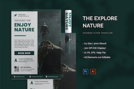 Explore Nature - Flyer