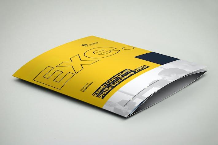 Thumbnail for 3xA4 Trifold Brochure