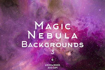 Magic Nebula Backgrounds 3
