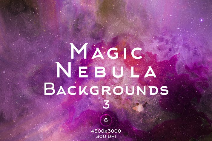 Thumbnail for Magic Nebula Backgrounds 3