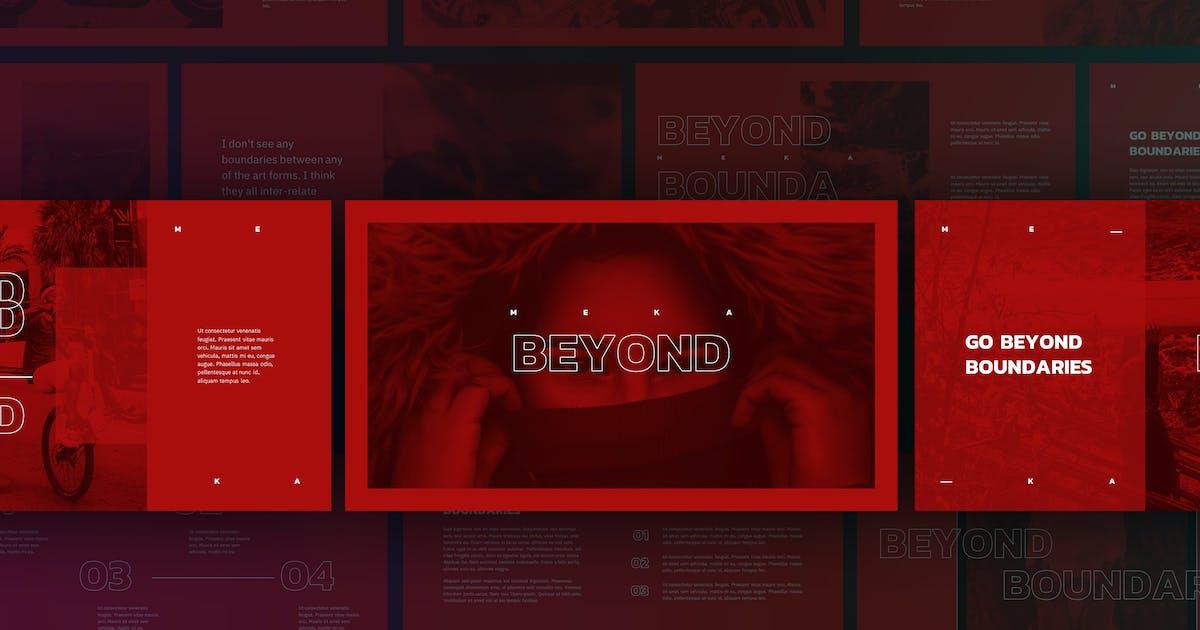 Download Meka - Creative Keynote Template by Slidehack