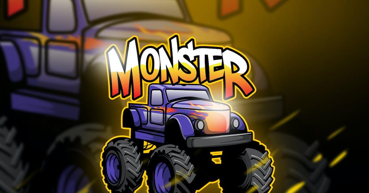 Download monster - Mascot & Esport Logo by aqrstudio