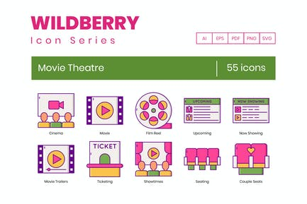 55 Kino-Ikonen - Wildberry-Serie