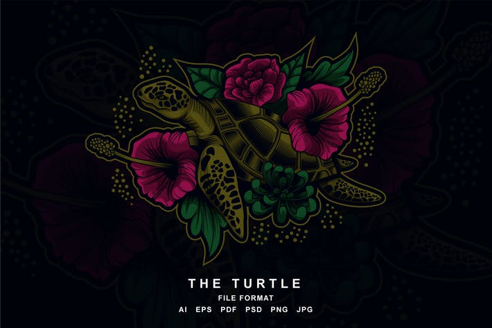 Thumbnail for Turtle artwork illustration