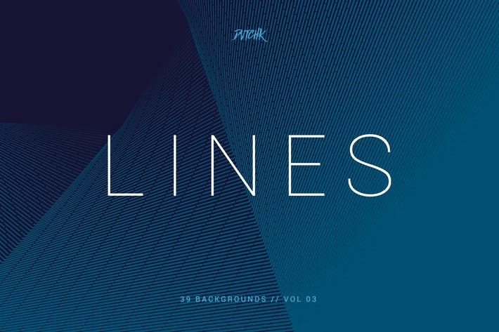 Thumbnail for Lines | Abstract Stripes Backgrounds | Vol. 03