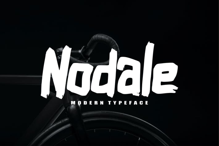 Thumbnail for Nodale Modern Typeface