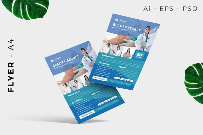 Thumbnail for Beauty Wellness Flyer