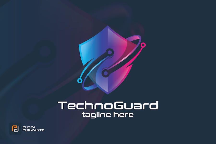 Techno Guard - Logo Template